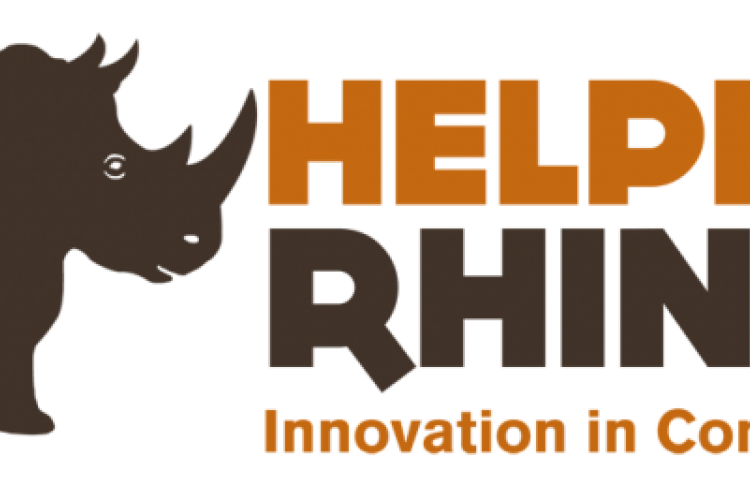 Helping Rhinos Logo